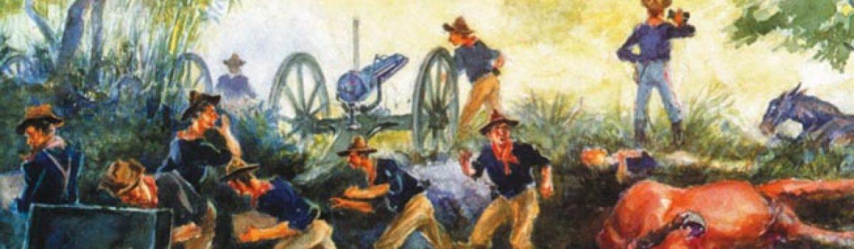 """""""Gatling Gun Parker"""" At the Battle of San Juan Hill"""