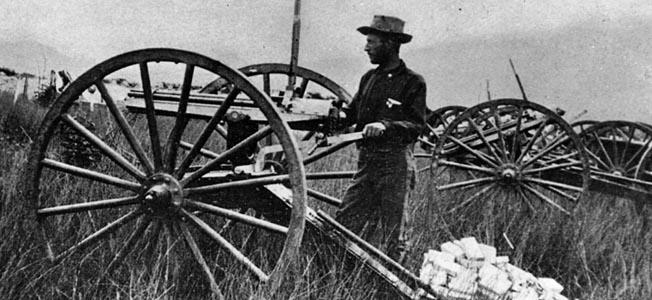 """Gatling Gun Parker"" won worldwide fame for his innovative exploits alongside Teddy Roosevelt at the Battle of San Juan Hill."