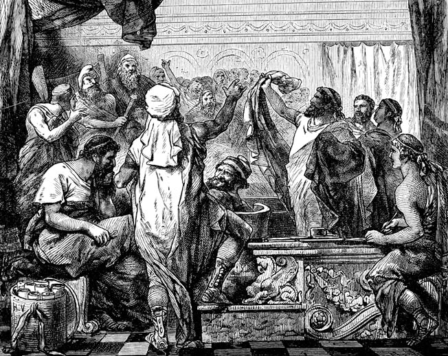The Roman Senate grew impatient with Dictator Quintas Fabius Maximus's war of attrition. It was not until much later that the Romans came to fully appreciate the strategy.