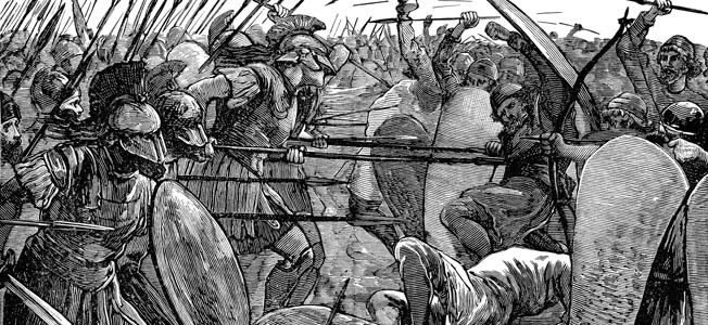 Persian General Mardonius saw an opportunity to crush the Greeks in July 479 BC near Thebes.