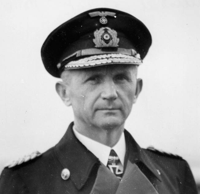 Admiral Karl Dönitz a veteran of World War I, commanded the U-boat force that posed a serious threat to Allied victory in the Battle of the Atlantic.