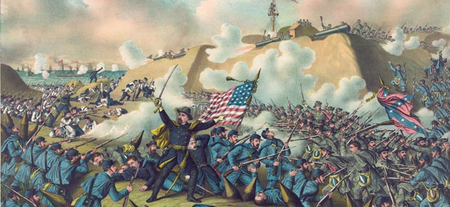 At the first Battle of Bull Run, the United States Marine Corps took part in several significant battles on land and at sea during the Civil War.