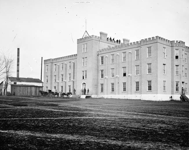 Lindsey Hall, then part of the University of Nashville, was on the campus of the Western Military Institute, where Johnson served as superintendent before the war.