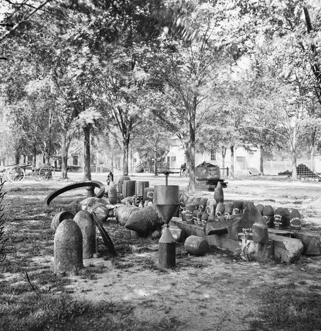 aptured Confederate ordnance, including torpedos and artillery shells. The Confederate high command had initial reservations about using naval and land mines, but it eventually embraced the technology as a way to offset the tremendous manpower and equipment advantages of Union forces.