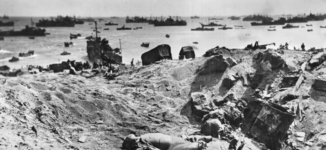 The United States 3rd, 4th, and 5th Marine divisions faced their sternest trials by fire in the month long battle to take the island of Iwo Jima.