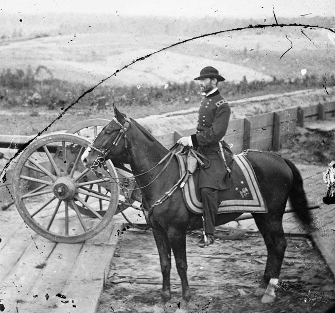 Sherman at the peak of his power in the fall of 1864. With the capture of Atlanta behind him, he was prepared to risk everything on an audacious march through south-central Georgia to the Atlantic coast.