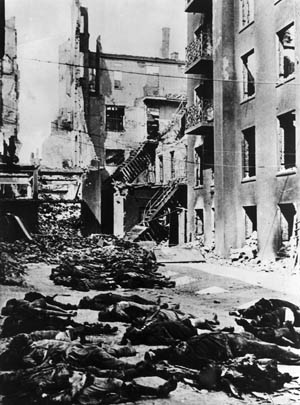 "Over 40,000 Hamburg citizens perished in buildings, on the street, and in air raid shelters during Operation Gomorrah. British officials later called the attacks on Hamburg the ""Hiroshima of Germany."""