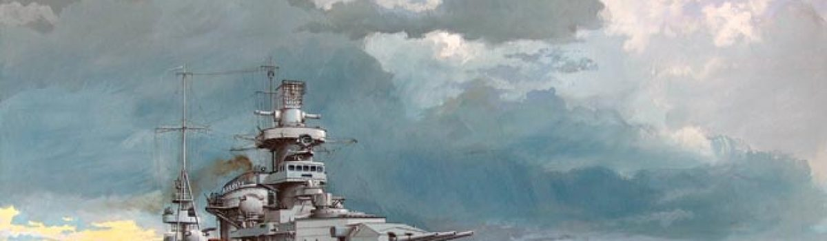 KMS Scharnhorst: A Truly Cursed Warship from Nazi Germany?