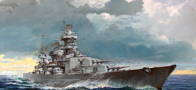 The German battle cruiser Scharnhorst was plagued by hard luck throughout her career.