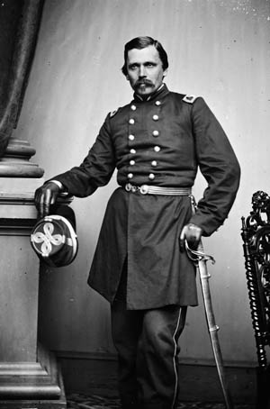 Colonel Wlodzimierz Krzyzanowski witnessed many battlefield disasters in Virginia.