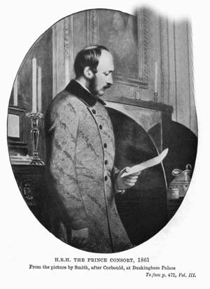 Prince Albert, husband and consort of Queen Victoria.