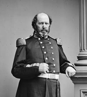 Colonel John Harris was Marine Corps commandant when the Civil War began.