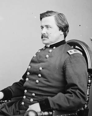 Robert McCook's luckiest brother, Maj. Gen. Alexander McDowell McCook, who survived the war unscathed.