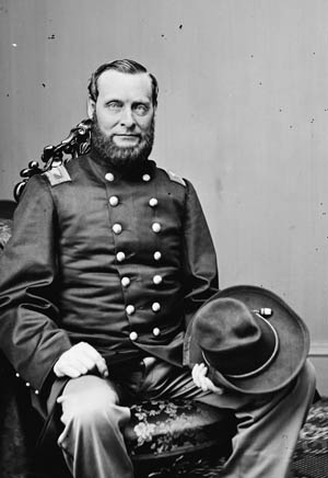 Union Colonel Abel Streight, led a contingent of mule-mounted Southern Unionists ingloriously captured by Nathan Bedford Forrest.