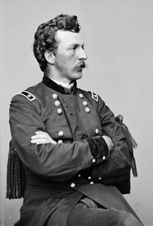 Union Colonel (later general) Nelson Miles.