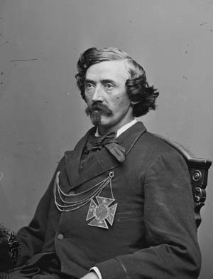 Colonel James Mulligan of the 23rd Illinois, commanded the Union forces at Lexington.