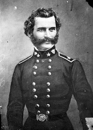 Confederate Brig. Gen. Gabriel James Raines designed primers that he attached to artillery shells to make land mines.