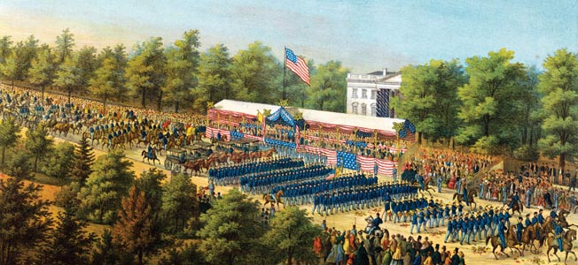 After weeks of mourning the death of Abraham Lincoln, the nation's capital hosted a two-day Grand Review of its victorious armies.