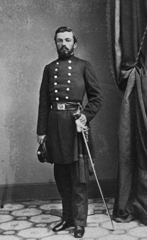 Major Charles Zagonyi, who commanded Frémont's headquarters guard.