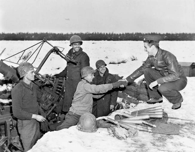 As the weather cleared, allied aircraft hit the Germans hard during the Battle of the Bulge.