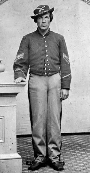 John Graffam, 1st Maine.