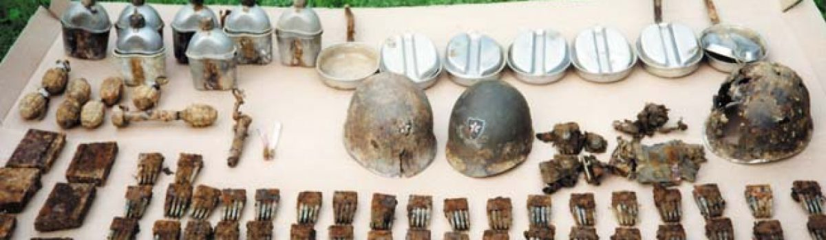 Lausdell Artifacts From the Battle of the Bulge