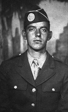 """Darrell """"Shifty"""" Powers, ca. 1944."""