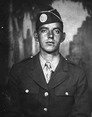 "Darrell ""Shifty"" Powers, ca. 1944."