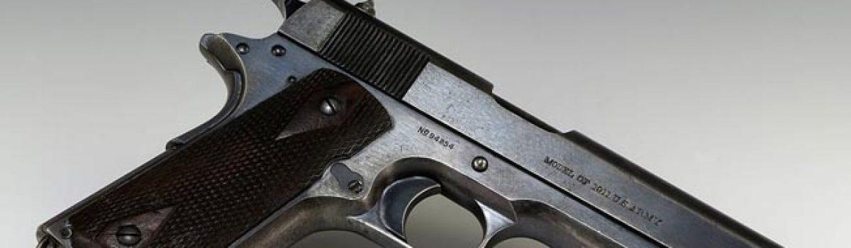 The Browning M1911 .45 Pistol: John Browning's Masterpiece