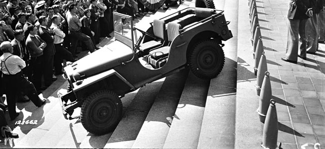 The American vehicle was a true workhorse of World War II.