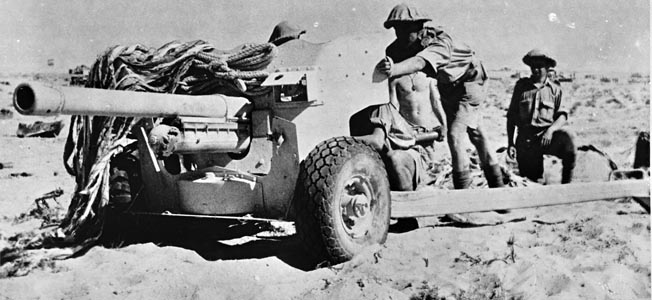 A beleaguered group of British soldiers took a fearful toll of axis armor at El Alamein.
