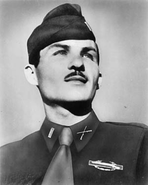 Second Lieutenant Thomas Wigle received the Medal of Honor posthumously for heroic actions on September 15.