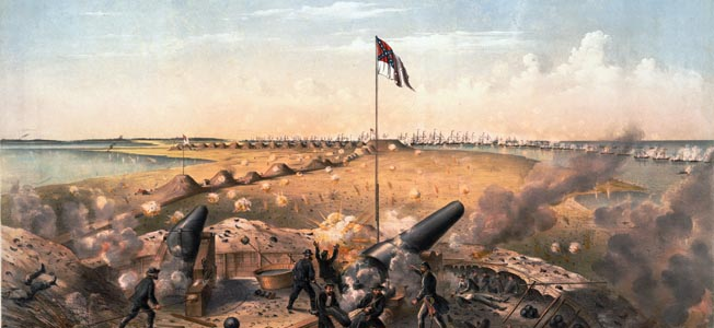 Fort Fisher was vital to the survival of Wilmington, North Carolina, and Wilmington was vital to the survival of the Confederacy.