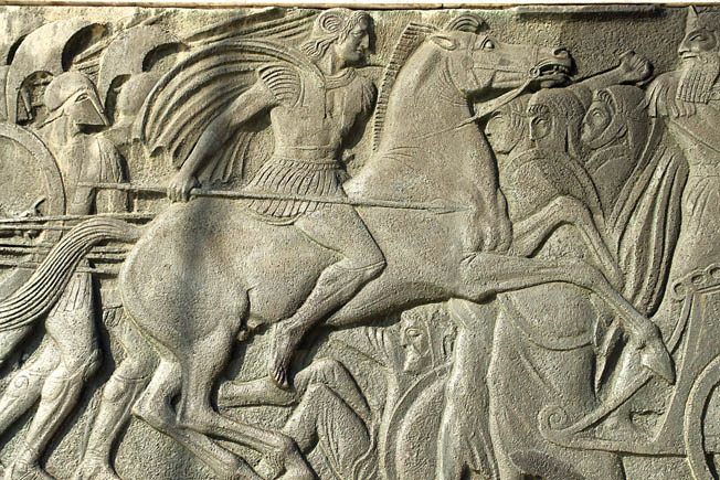 Alexander the Great relentlessly pursued the Persians, defeating not only their main army but also those of their allies in central Asia who resisted his rule.