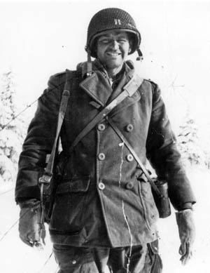 Frank Naughton was a captain during the Battle of the Bulge.