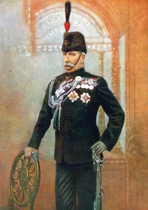 Boer General Louis Botha, right.