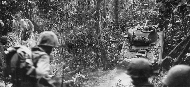 New Britain was a key prize in the Allies' island-hopping strategy, but the fierce combat and terrible terrain at the Battle of Cape Gloucester did take a toll.