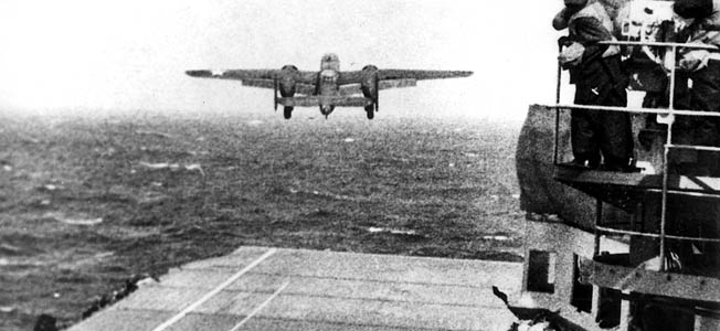 The idea for the Doolittle Raid came about at a Norfolk training area and a discussion between Captain Francis Low and Admiral Ernest J. King of the U.S. Fleet.