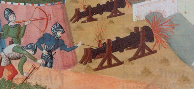 By the late 15th century, knights' suits of armor had reached their pinnacle. But the weapon that would make them obsolete turned out to be the cannon.