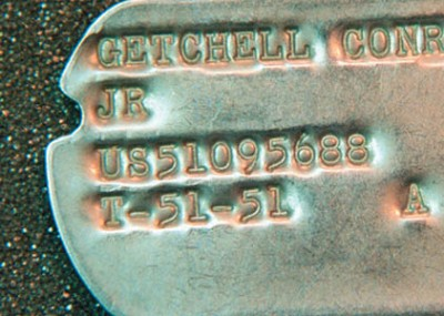Collecting Dog Tags and Other Military IDs