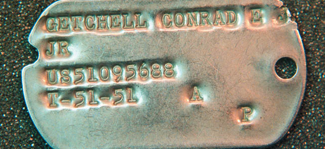 Paul Braddock, author of Dog Tags: A History of the American Military Identification Tag 1861-2002, talks dog tag collections and the history of military IDs.