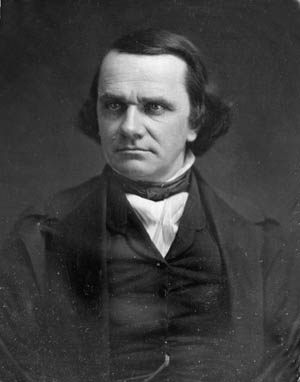 The demise of the Whig Party resulted in the development of a brand new political platform led by Stephen Douglas's bitter adversary: Senator Abraham Lincoln.