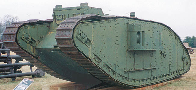 On Sept. 15, 1916, near Flers-Courcelette, German troops became the first to fall victim to Ernest Swinton's famous military contraption: the tank.