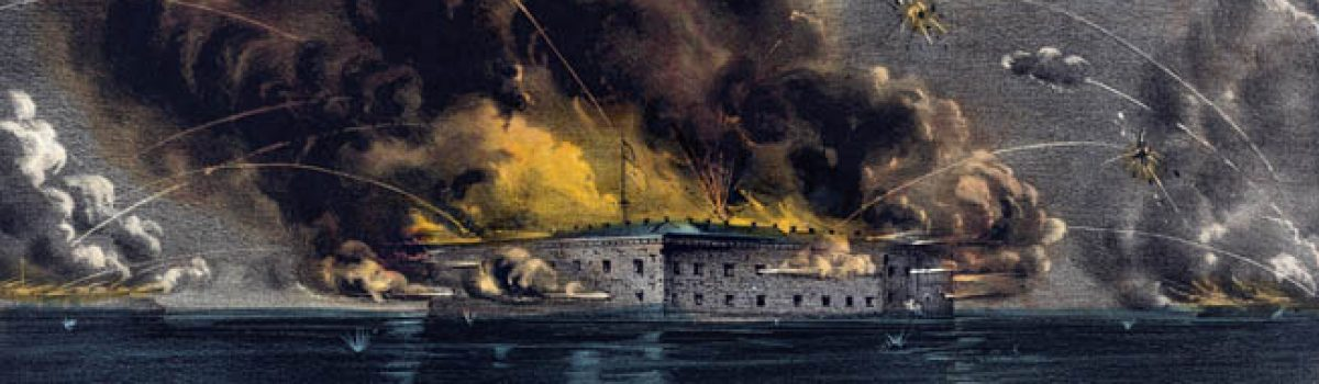 Firing on Fort Sumter: the Start of Civil War