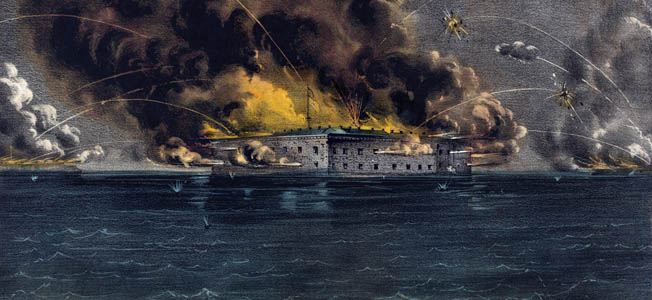Despite numerous attempts to deescalate the situation on both sides, Fort Sumter was fired upon in April 1861, marking the start of the American Civil War.