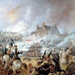 First Shots at Napoleon's Battle of Waterloo
