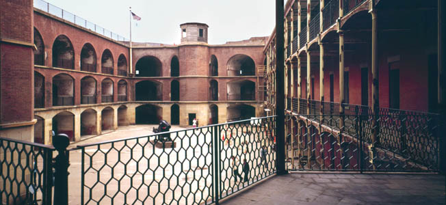"""Fort Pickens and Fort Point were both built using the """"Third System"""" defense theory that was based in part on hard lessons learned in the War of 1812."""
