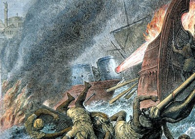 Greek Fire: The Mysterious Weapon of the Byzantine Empire