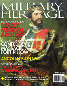 The January issue of Military Heritage Magazine