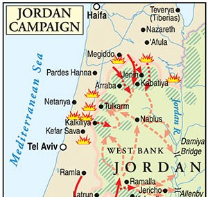 Prelude to Zahal's West Bank Invasion of 1967